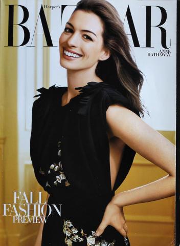 Harper's Bazaar August 2011