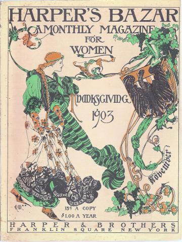 Harper's Bazaar November 1903