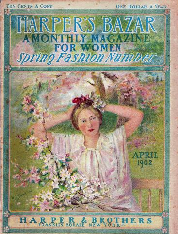 Harper's Bazaar April 1902