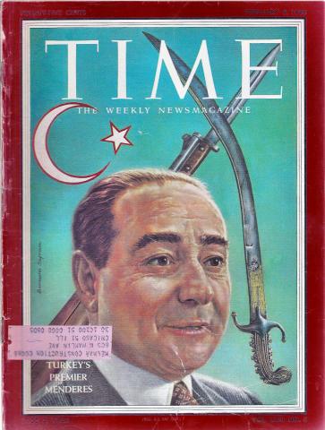Time Magazine February 3, 1958