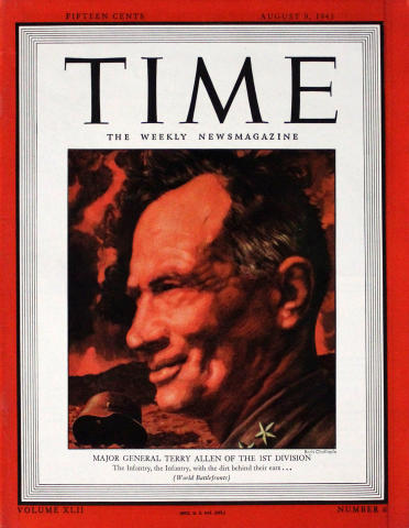 Time Magazine August 9, 1943