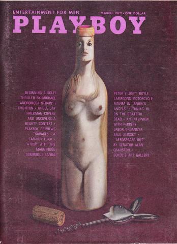 Playboy Magazine March 1, 1972