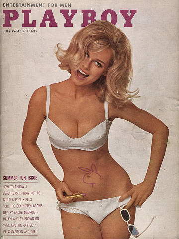 Playboy Magazine July 1, 1964
