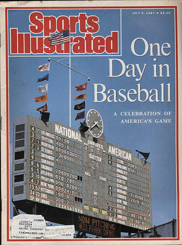 Sports Illustrated July 6, 1987