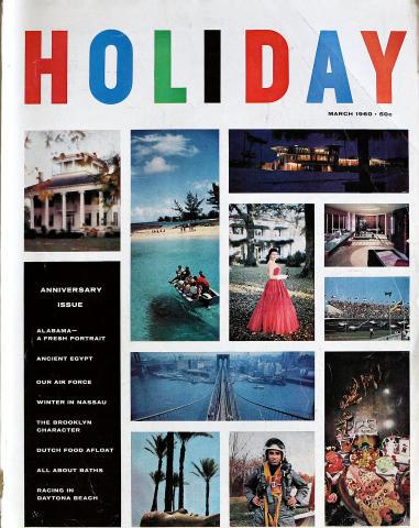 Holiday Magazine March 1960
