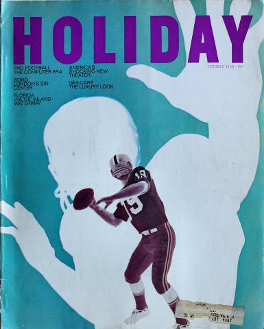 Holiday Magazine October 1968