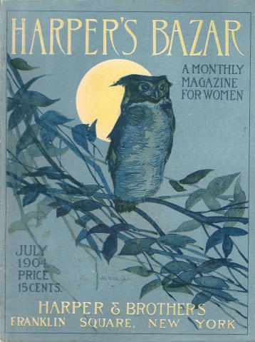 Harper's Bazaar July 1904