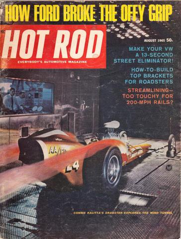 Hot Rod Magazine August 1965