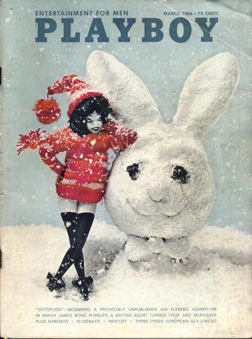 Playboy Magazine March 1, 1966