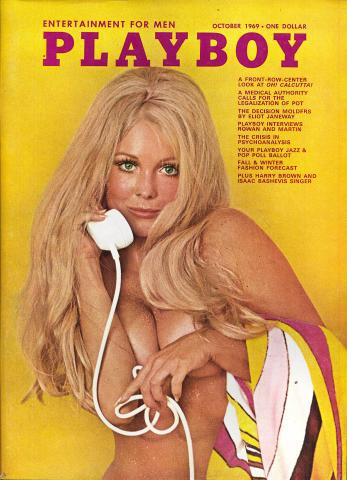 Playboy Magazine October 1, 1969