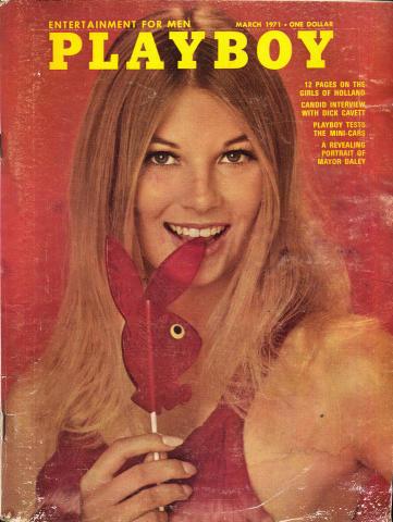 Playboy Magazine March 1, 1971