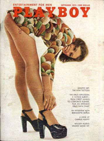 Playboy Magazine September 1, 1972