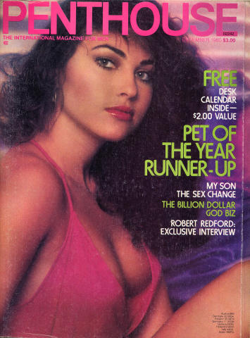 Penthouse Magazine December 1980