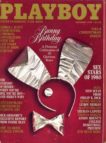 Playboy Magazine December 1, 1980