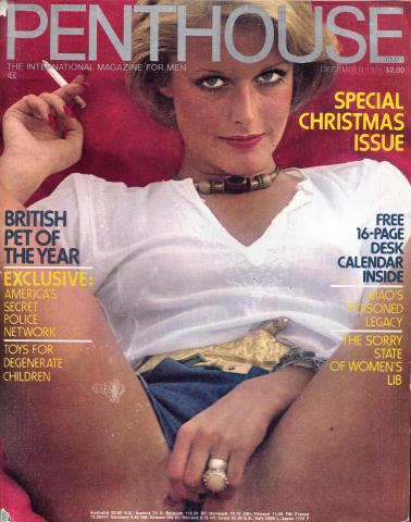 Penthouse Magazine December 1976