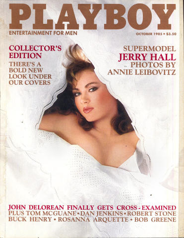 Playboy Magazine October 1, 1985