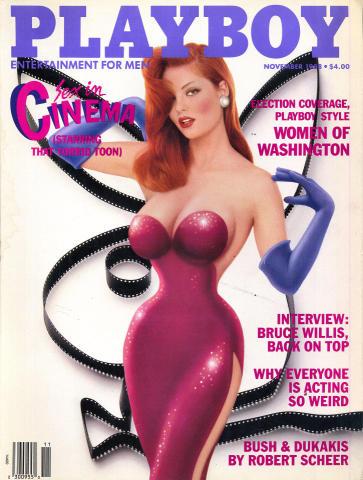 Playboy Magazine November 1, 1988