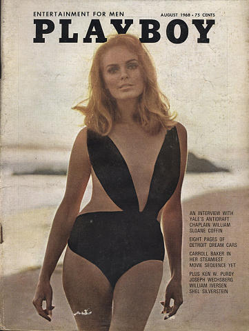 Playboy Magazine August 1, 1968