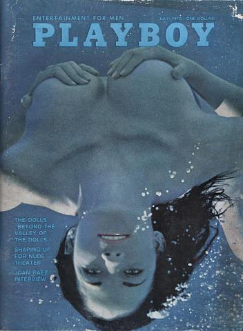 Playboy Magazine July 1, 1970