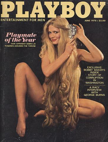 Playboy Magazine June 1, 1978