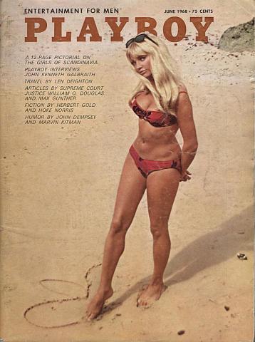 Playboy Magazine June 1, 1968