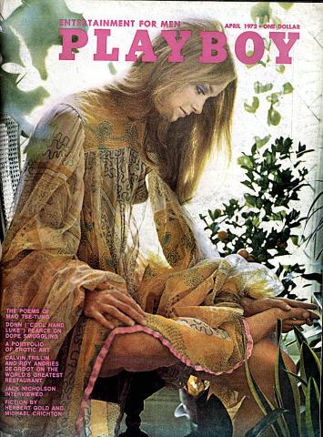 Playboy Magazine April 1, 1972