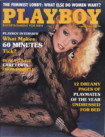 Playboy Magazine March 1, 1985