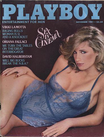 Playboy Magazine November 1, 1981