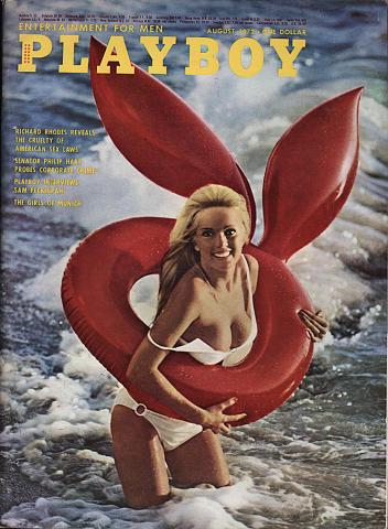 Playboy Magazine August 1, 1972
