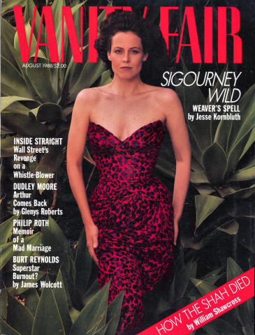 Vanity Fair Magazine August 1988