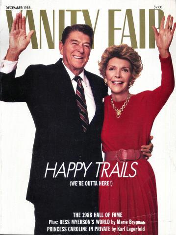 Vanity Fair Magazine December 1988