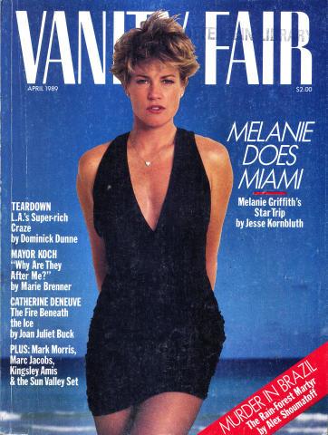Vanity Fair Magazine April 1989