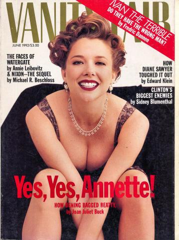 Vanity Fair Magazine June 1992