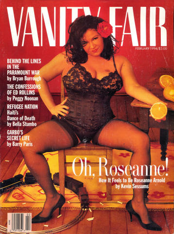 Vanity Fair Magazine February 1994