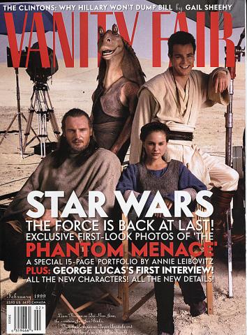 Vanity Fair Magazine February 1999