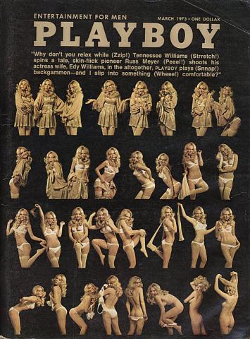 Playboy March 1, 1973