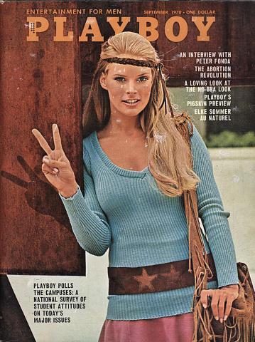 Playboy Magazine September 1, 1970