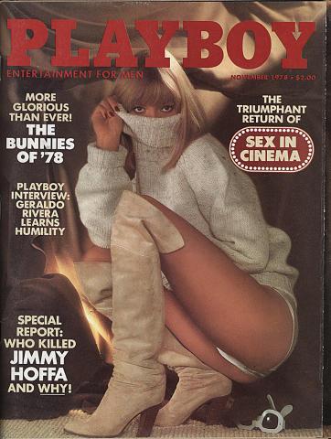 Playboy Magazine November 1, 1978