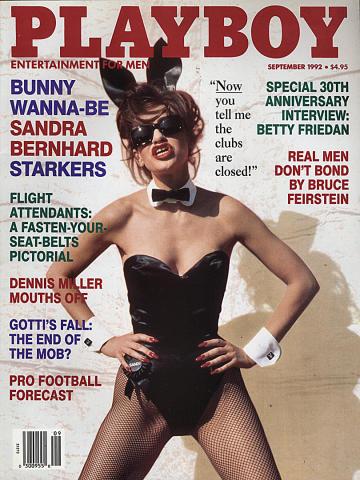 Playboy Magazine September 1, 1992