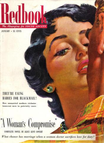 Redbook Magazine January 1952