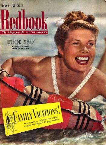 Redbook Magazine March 1952