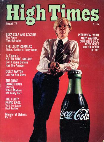 High Times Magazine August 1977