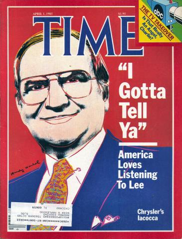 Time Magazine April 1, 1985