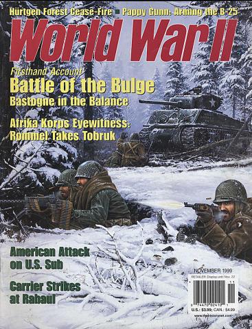 World War II Magazine November 1999