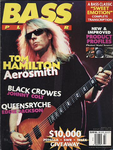 Bass Player Magazine March 1995