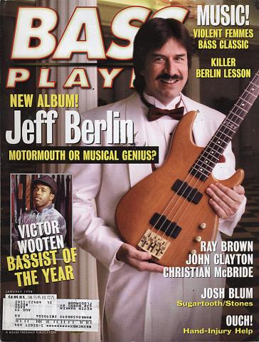 Bass Player Magazine January 1998