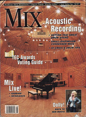 Mix Magazine August 2002