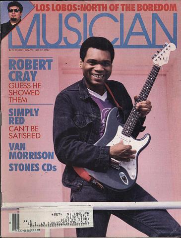 Musician Magazine April 1987