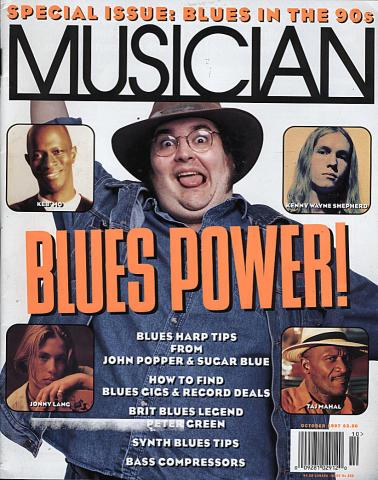 Musician Magazine October 1997