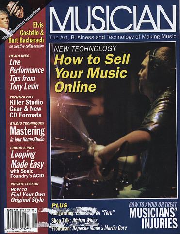 Musician Magazine January 1999